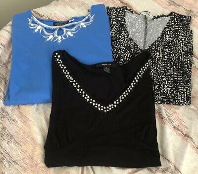 Lot Of 3 Womans Size Large Tops