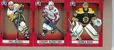 2018-19-OPC-Canadian Tire- Red-Lot of 10- with Superstras