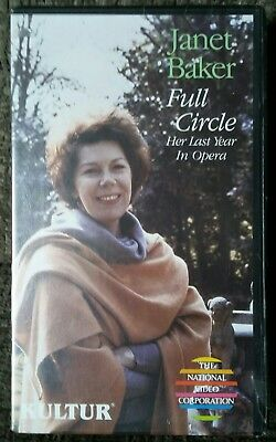Janet Baker Full Circle Last Year Opera 1982 VHS Tape Unplayed Out Of Print Rare