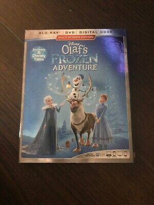 Olaf's Frozen Adventure (Blu-ray Disc/DVD, 2017, Disney) No Digital Code