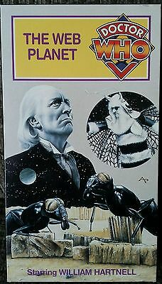 Dr Who The Web Planet VHS BBC TV 1965 Hartnell NTSC Video Out Of Print! Rare!