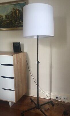 West Elm large hall standing floor lamp