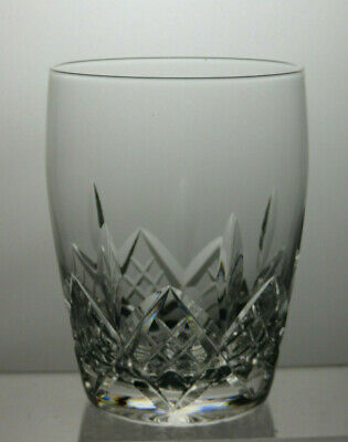 "Stuart Crystal""Glengarry"" Cut Barrel 11Oz Tumbler /Glass -3 1/2""Tall"