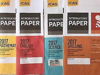 Year 2  ICAS Papers with answers (2018 included)