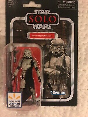 """Star Wars Vintage Collection Mimban Stormtrooper 3.75"""" Figure Non Mint Card"""