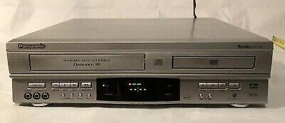 Panasonic PV-D4752 DVD/VCR Combo Player Recorder Tested Working No Remote EUC