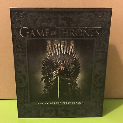 Game Of Thrones: The Complete First Season One 1 Blu-Ray Box Set Hbo Tv Series
