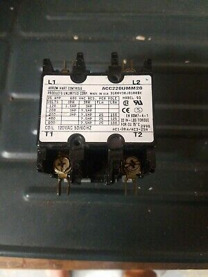 Arrow Hart Controls Acc220Umm20 Magnetic Contactor
