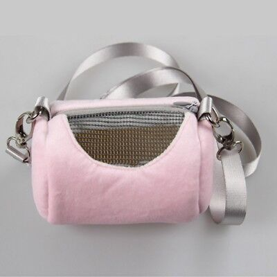 Portable Fashion Small Pet Hamster Rabbit Nest Mesh Carriers Shoulder Bag IN9X
