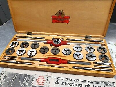 Vintage New Patience & Nicholson Tap & Die Set From 1972, Absolutely Beautiful !