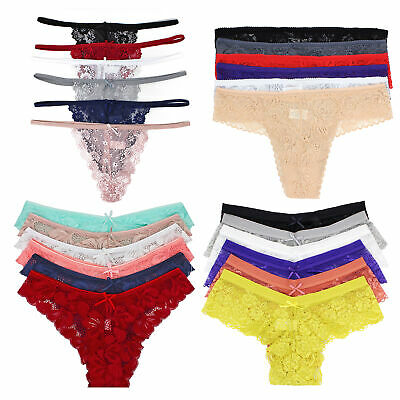 4a65be04f0f 6 PCS BOYSHORTS Underwears Lace Panties Multi-Colors Underwear Multi ...