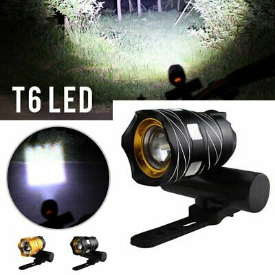 Bike Bicycle Headlights USB LED Rechargeable Mountain Cycle Front Front Lamp AU