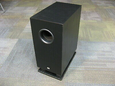 """Onkyo SKW-110 Powered Subwoofer, 8"""" Driver Ported, 75 Watts, Excellent Condition"""