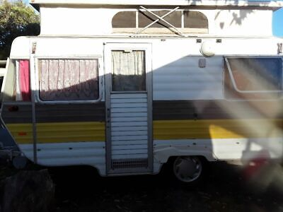 1982 Viscount Grand Tourer 14ft Top Pop Caravan