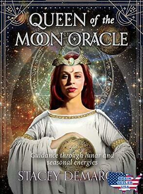 Queen of the Moon Oracle: Guidance through Lunar and Seasonal Energies (Rock