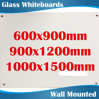 3 Sizes Premium Office Glass Magnetic Whiteboard Whiteboards White Boards