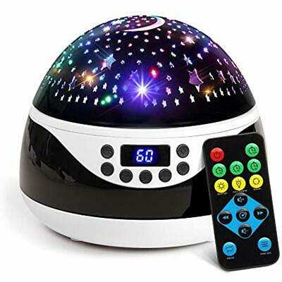 2019 Newest Baby Night Light, Remote Control Star Projector With Timer Music For