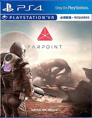 Farpoint (English/Chi Ver) - VR Required for PS4 Sony Playstation 4