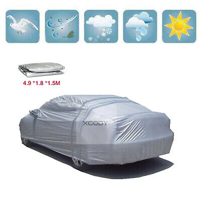 Size XL Car Cover Waterproof Sun UV Ray Rain Dust Snow Dust Scratch Outdoor