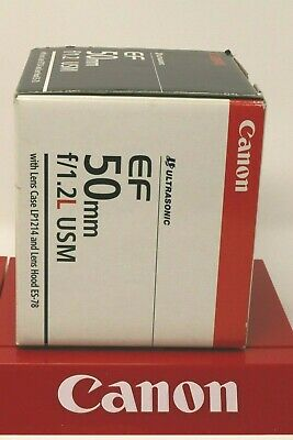 Canon 50Mm 1.2 L Usm New In Box 2017 Date Code Usa Warranty Cards Make Offers