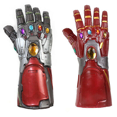 Avengers 4 Endgame Infinity Gauntlet Cosplay Iron Man Tony Stark Gloves Props US