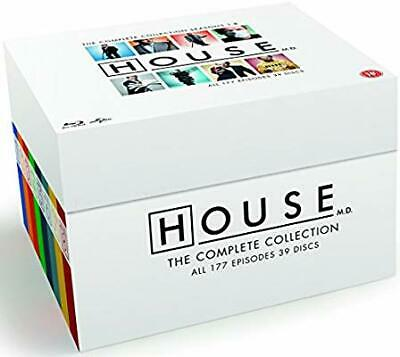 HOUSE M.D. The Complete Series Blu-ray Box Set Collection All Seasons 1-8 MD