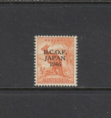 1946 British Commonwealth Occupation Forces in Japan (BCOF) ½d Orange SG J1 MUH.