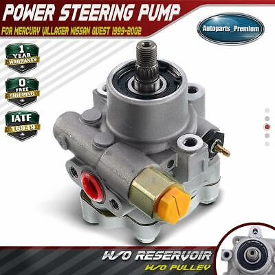 Power Steering Pump for Nissan Quest Mercury Villager 1999-2002