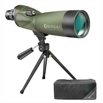BARSKA | Blackhawk Straight Spotting Scope, 18-36 x 50mm - AD11114