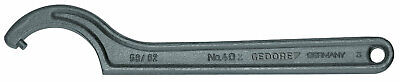 Gedore 6336580 Hook wrench with pin, 25-28 mm