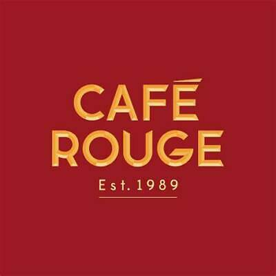 Meal to the value of £40 at Cafe Rouge Chester