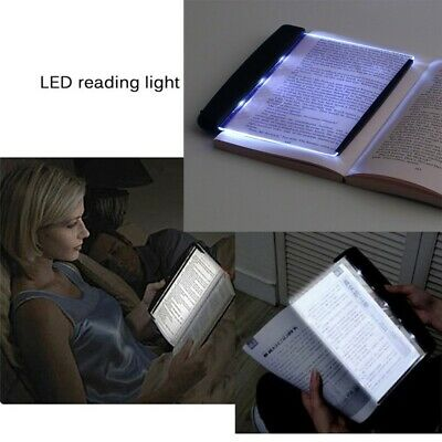 Creative LED Book Light Reading Night Vision Portable Car Travel Panel Lamp