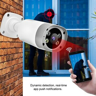 1080P Telecamera Ip Camera impermeabile Esterno Wi-fi HD P2P 18 IR Led APP TF