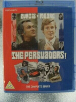 The  Persuaders  Complete  Series  Region  B   Blu-Ray  Dvd  Brand  New