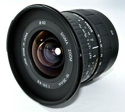 Sigma 18-35mm f3.5-4.5 Aspherical Wide Zoom Lens for Canon EF  from Japan