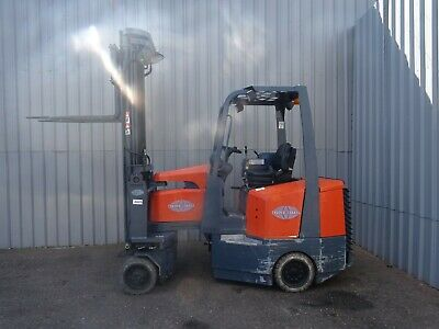 AISLEMASTER. 1800Kg. USED ELECTRIC FORKLIFT TRUCK. (#2425)