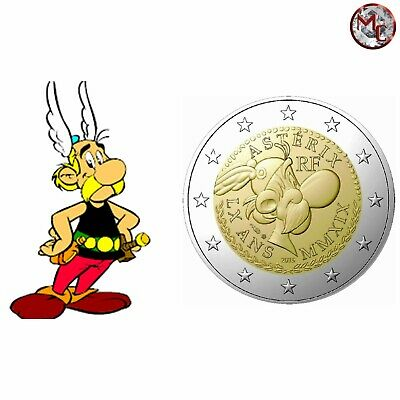 """France - 2 Euro 2019 """"60 years Asterix"""" Coincard - ASTERIX"""
