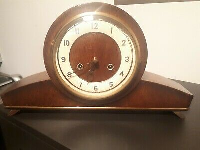 Smiths mantle clock # REFURBISHED # low starting price