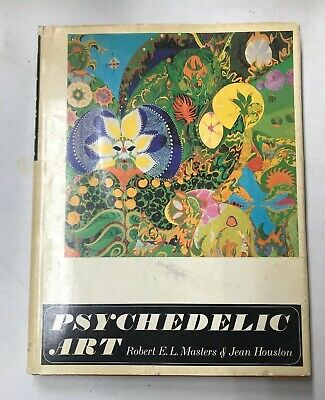 Rare PSYCHEDELIC ART BOOK by ROBERT E.L. MASTERS & Jean Houston GROVE PRESS 1968