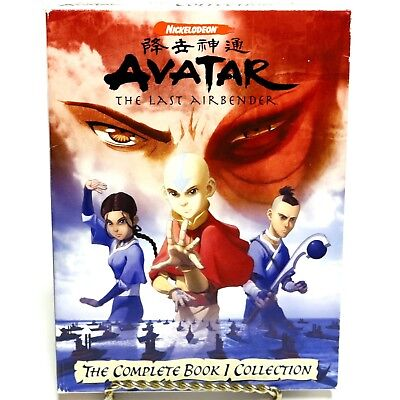 Avatar The Last Airbender The Complete Book 1 Collection 6-Disc DVD Box Set