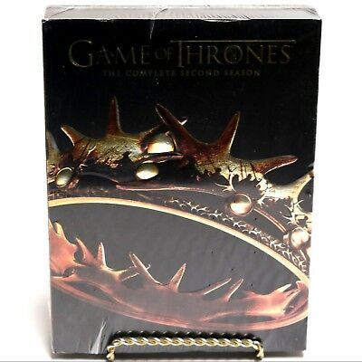 Game of Thrones GOT The Complete Second Season Two 2 DVD Box Set NEW SEALED