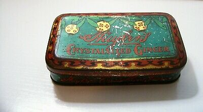Vintage Huyler's Crystallized Ginger Tin
