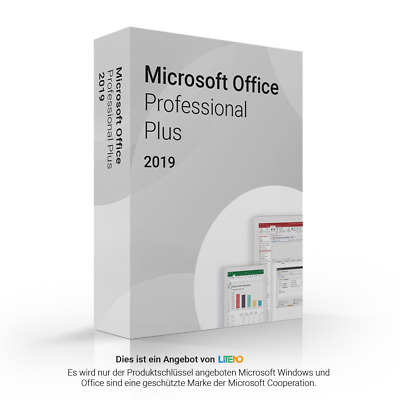 Microsoft Office 2019 Professional Plus NEU online 32 64 bit download ESD