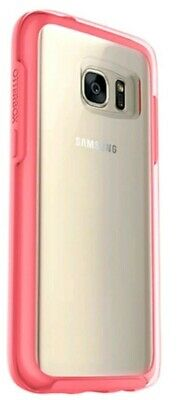 NEW! OtterBox SYMMETRY Hard Shell Snap Cover Case Samsung Galaxy S7 Pink/Clear