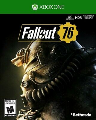 Fallout 76 (Xbox One) BRAND NEW 4K HDR