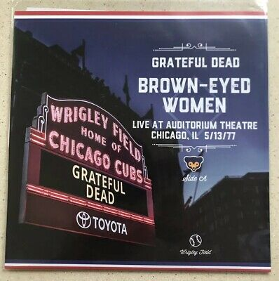 Chicago Cubs Grateful Dead 7 inch Vinyl Third Man Records Promotional Giveaway