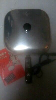 Vintage SUNBEAM controlled Heat Automatic Frypan, original cord & booklet