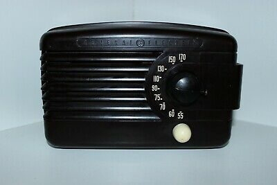 VINTAGE Radio GENERAL ELECTRIC -BAKELITE MODEL C 751-1939