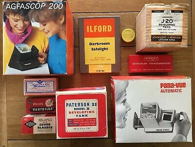 Vintage Photography Equipment Free Postage