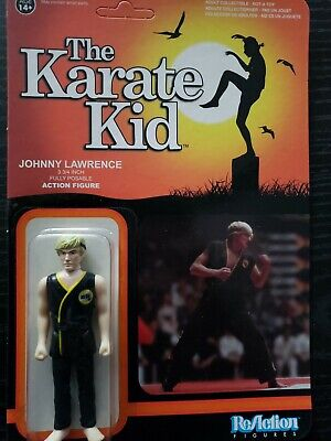 Funko x Super 7 ReAction Johnny Lawrence The Karate Kid 3 3/4 Action Figure